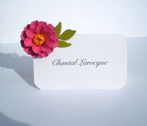 The Zinnia Escort Cards / Place Cards
